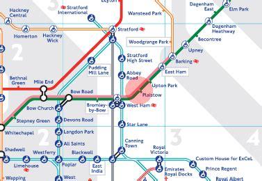plaistow station map london underground tube