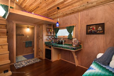 The hotel caravan welcomes new wheelchair accessible tiny house living in a shoebox