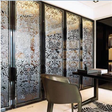 decorative interior glass doors folding home decorative stained glass interior doors for