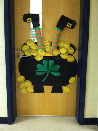 printable christmas door decorations 17 best images about st patrick s day ideas on pinterest