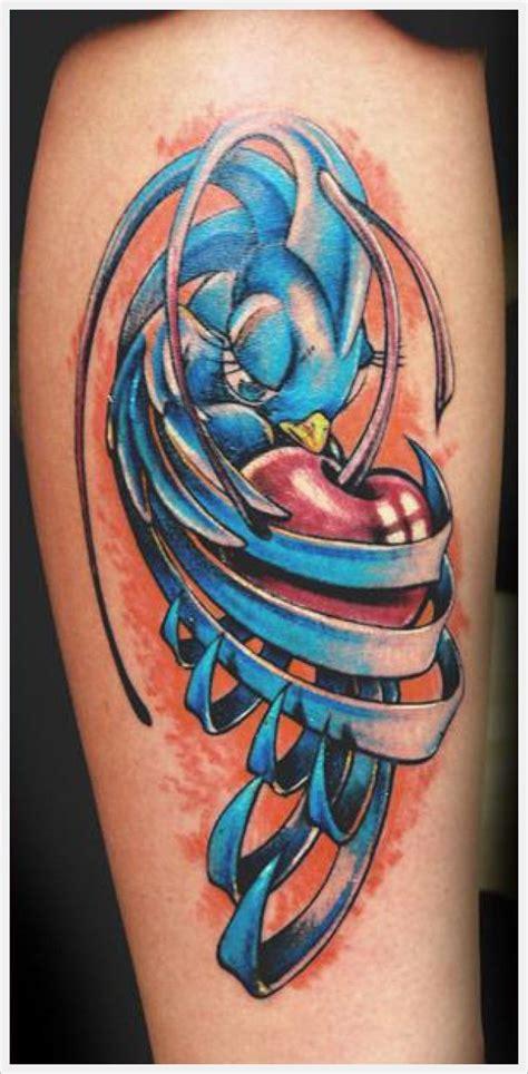 tato desain kartun bird tattoos cartoon and birds on pinterest