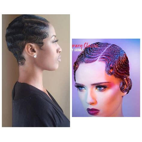 Hairstyles For Black Finger Waves by Black Hairstyles Finger Waves Best Hairstyles 2017