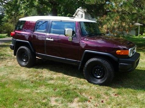 buy used 2007 toyota fj cruiser 6 speed manual 4wd in holt michigan united states for us