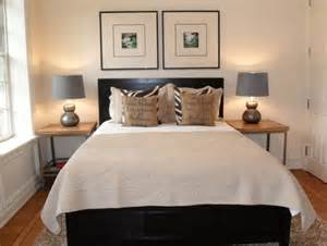 tips small bedrooms: how to design a room around a black bed