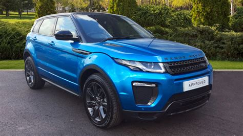 range rover evoque blue range rover evoque landmark special edition otomobi