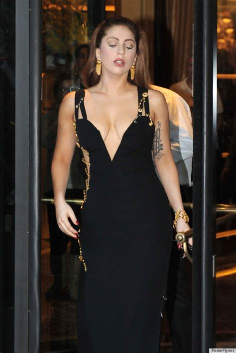 Buy Elizabeth Hurleys Safety Pin Versace Dress by Gaga Wears Elizabeth Hurley S Safety Pin Dress By
