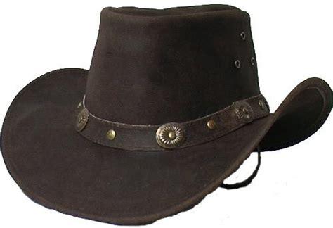 Cowhide Cowboy Hats - genuine cowhide leather western cowboy hat brown 2695