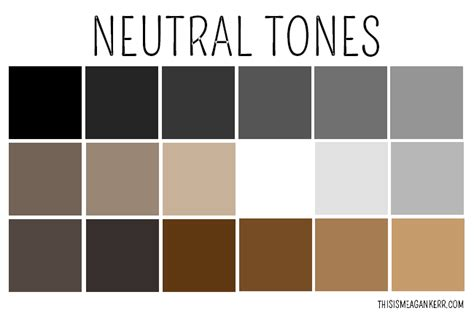 neutral colors list how to wear neutrals this is meagan kerr