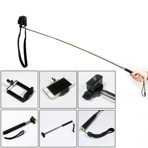 Tongsis Holder U Mono Pod monopod selfie stick telescopic mobile smart phone iphone