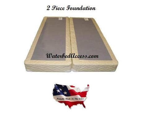 Pillow Top Waterbed Mattress by King Softside Waterbed W Organic Cotton Pillow Top