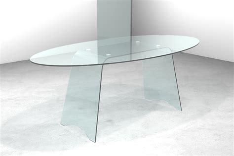 basi tavoli cristallo tavolo in cristallo con basi curvate tavolo gambe oblique
