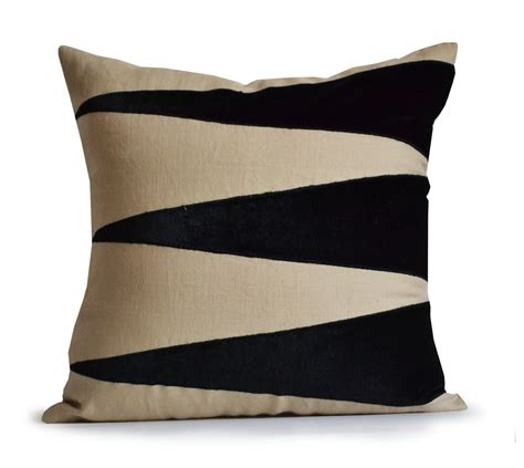 Designer Accent Pillows by Decorative Throw Linen Pillow Cover Applique Velvet Pillow