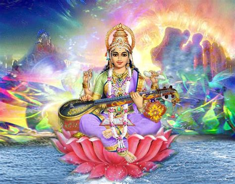 Download Maa Saraswati Wallpapes in HD - 2017