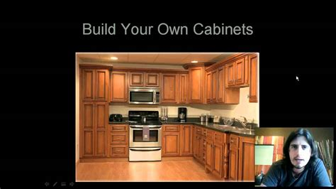 build own kitchen cabinets diy cabinet plans build your own cabinets youtube