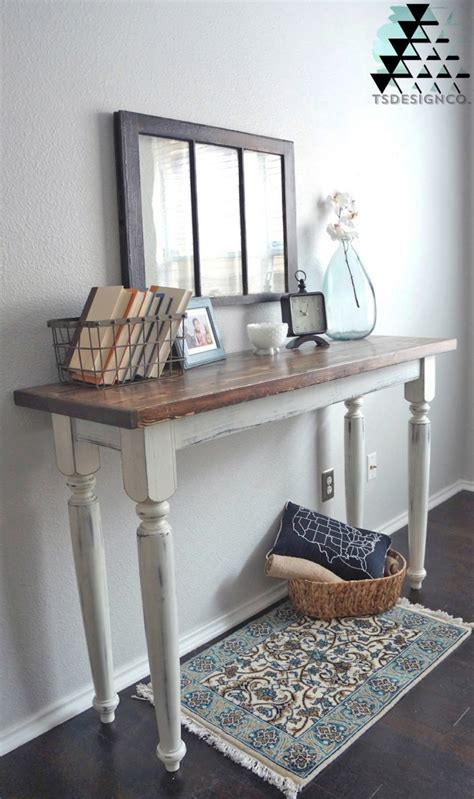 Distressed Entry Table Distressed Antique White Entry Table General Finishes Design Center