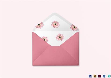 Floral Wedding Envelope Design Template In Illustrator Indesign Word Psd Publisher Wedding Envelope Printing Template