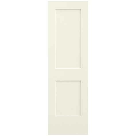 jeld wen 24 in x 80 in molded smooth 2 panel arch plank jeld wen 24 in x 80 in smooth 2 panel french vanilla