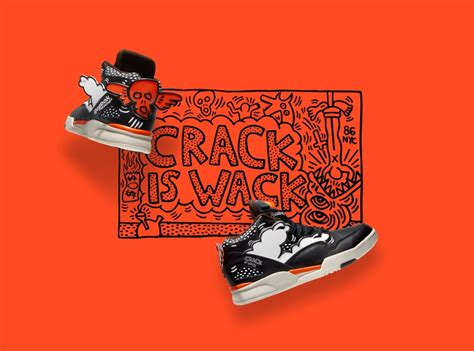 Original Reebok Classic Keith Haring Shoes Sepatu Sneakers Pria Murah Keith Haring X Reebok Classic Quot Is Wack Quot Collection