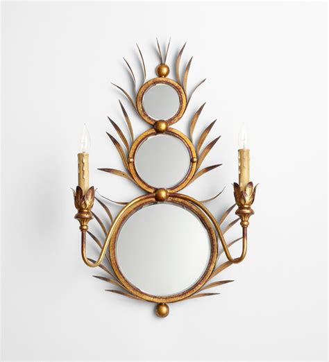 Kingston Mirror Wall Mount Sconce By Cyan Design Decorative Wall Sconce