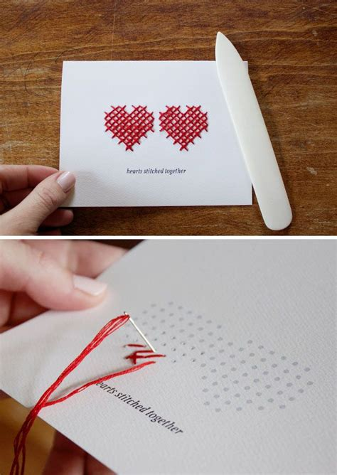 carding tutorial ebook hearts stitched together card free pdf printable