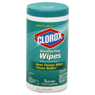 clorox disinfecting wipes fresh scent  wipes