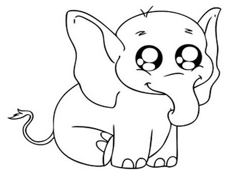 cute elephant coloring page cute baby elephant coloring pages coloringsuite com