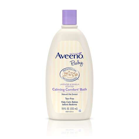 Soft Wash Calming aveeno baby calming comfort bath wash tear