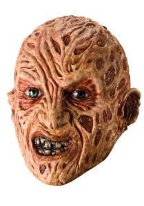Kid s freddy krueger 3 4 vinyl mask together with freddy krueger