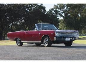 Dodge Dart Convertible 1967 Dodge Dart Convertible Rental N L Angeles And
