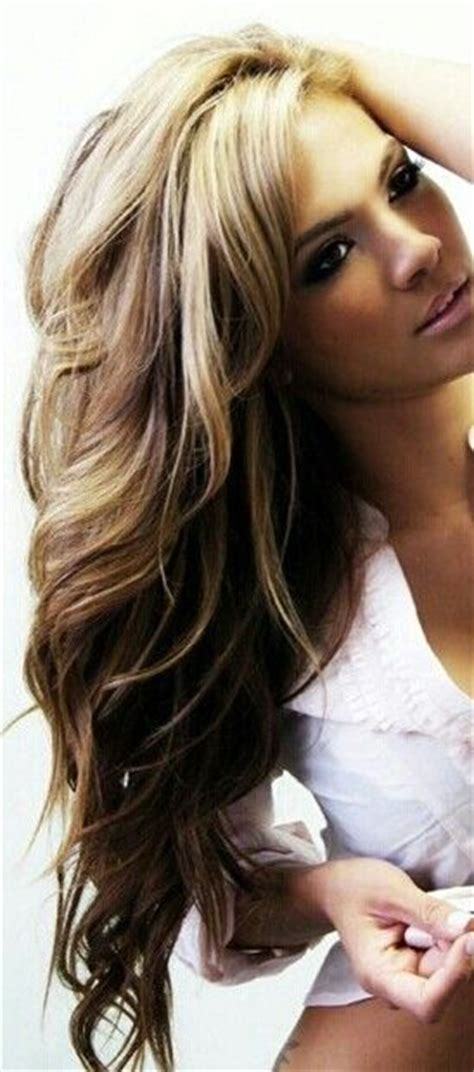 blonde on top snf brown in the bottom hair pictures blonde highlights blondes and highlights on pinterest