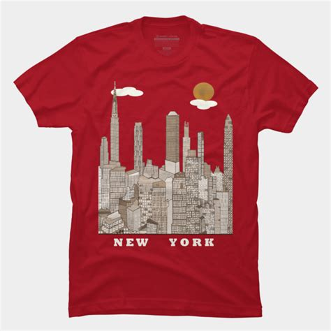 design t shirts nyc new york city t shirt by bribuckley design by humans