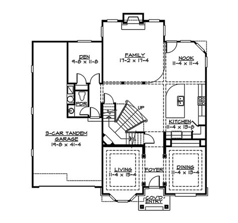 floor plans of a house caitlin modern luxury home plan 071d 0004 house plans