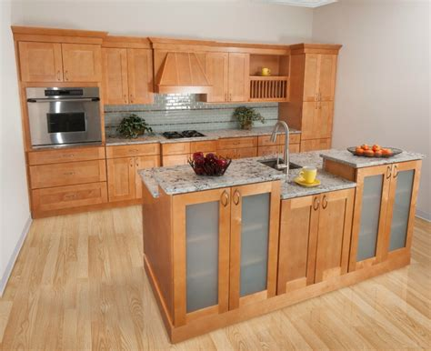 assemble kitchen cabinets shaker honey ready to assemble kitchen cabinets