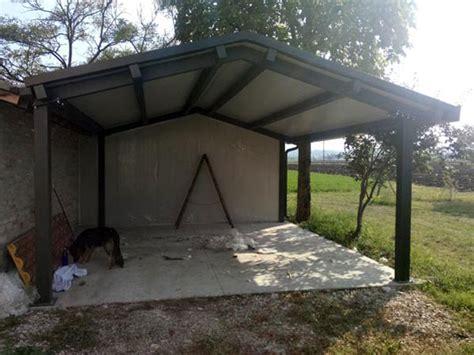 strutture in ferro per tettoie tettoie garage parma piacenza preventivo strutture in