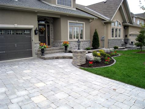 backyard driveway ideas ottawa interlock interlock driveway 2 ideas for the