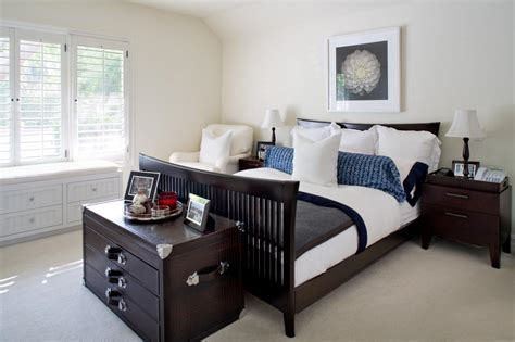 bedrooms with dark furniture photos hgtv