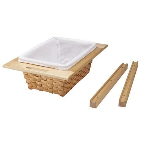 Rev A Shelf Woven Basket With Rails In Standard Size Kitchensource Com | rev a shelf woven basket with rails in standard size