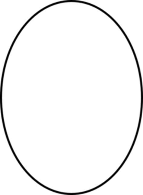 oval template printable vector oval outline clip art at clker com vector clip art