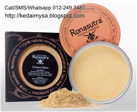 Harga Bedak Pac Powder bedak mineral ronasutra 2 in 1 kedaimysa