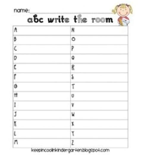 write the room day of school activity days