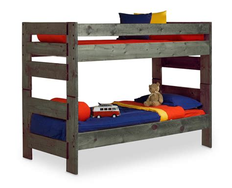 wrangler bunk bed driftwood finish hom
