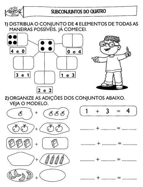 Atividades Escolares Tiandreia: Atividades de matemática