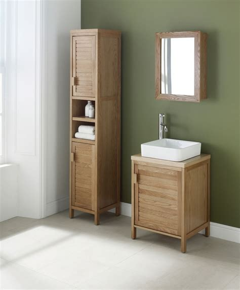 Oak Freestanding Bathroom Furniture Free Standing Bathroom Storage Uk Pkgny