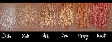 Nyx Bb By D Larlybeauty nyx pearl eyeshadow swatches in white mnk