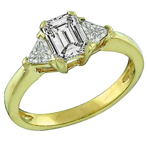Amazing Engagement Rings by Amazing 69 Carat Cert Emerald Cut Engagement