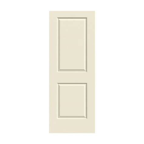 Jeld Wen 24 In X 80 In Molded Smooth 2 Panel Square White Moulded Interior Doors