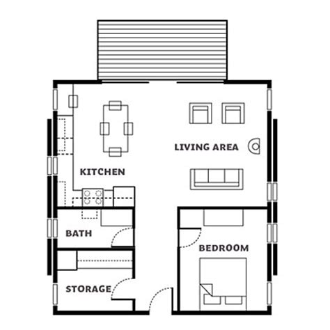 cabin layout washington cabin floor plan affordable cabin escape sunset