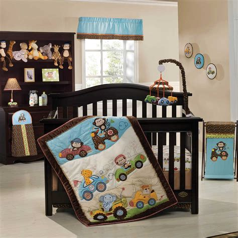 enchanting baby boy crib bedding applied  colorful baby