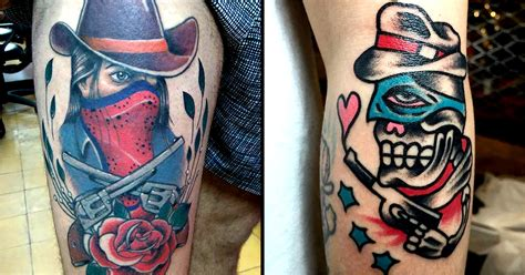 tattoo bandit instagram these bandit tattoos will steal your hearts tattoodo