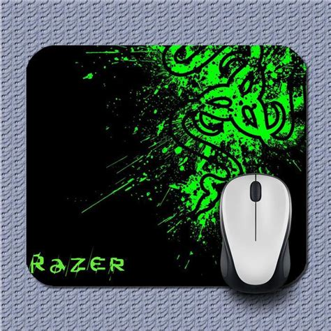 Mousepad Gaming Model Razer Small 21 X 25 razer green an1 mousepad mats mice office and 27 similar items